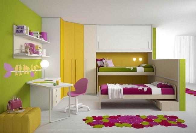 Дизайн дитячої для хлопчика і дівчинки разом: ідеї та колірні рішення