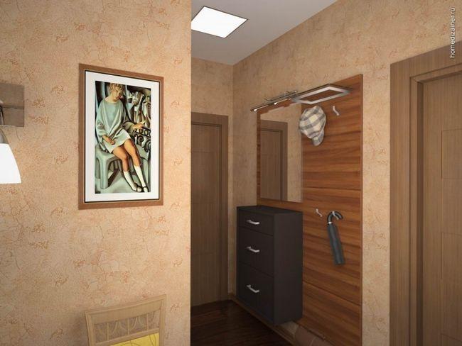 Дизайн маленького передпокою в квартирі «хрущовці». Фото в інтер`єрі