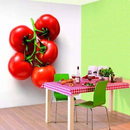 Фотошпалери для оформлення кухні: фото і дизайн оригінальних інтер`єрів