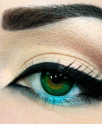 Ідеальний макіяж для зелених очей