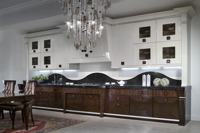 Інтер`єр кухні в стилі сучасна класика - фото, ідеї, дизайн