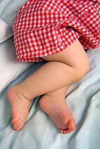 Зображення ніг немовляти (3 місяці)