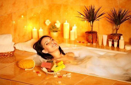 Антицелюлітні ванни з маслом лимона