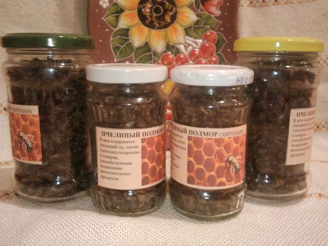 Як правильно приймати настоянку на горілці «бджолиний підмор»