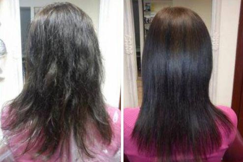 Зміцнюють маски роблять волосся здоровими, блискучими і слухняними