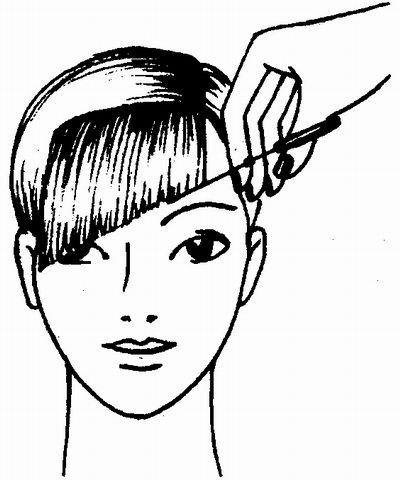 Зробити косу чубок самостійно, під силу навіть новачкові