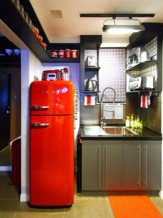 Кухня в ретро стилі (30 фото)