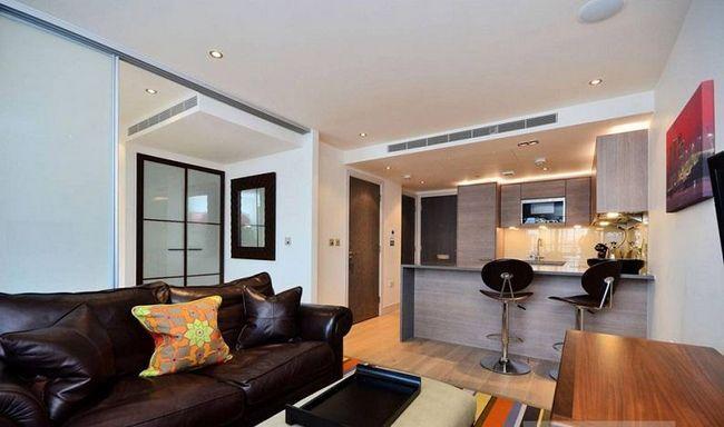 Квартира-студія 26 кв.м: фото, інтер`єр і планування