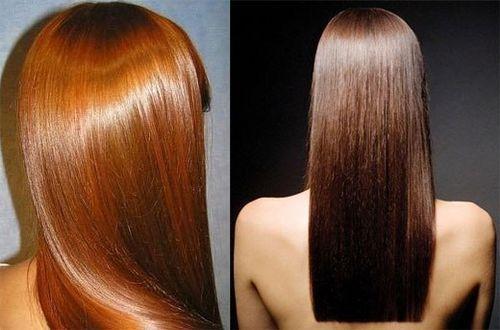 Желатин робить колір волосся більш глибоким і насиченим