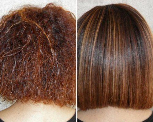Після ламінування волосся лягають акуратно і красиво - волосок до волоска