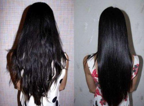 На довге волосся знадобиться багато желатину, але ефект того вартий