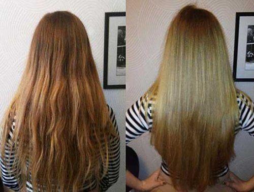 Не потрібно травмувати волосся праскою, є кращий вихід - ламінування желатином