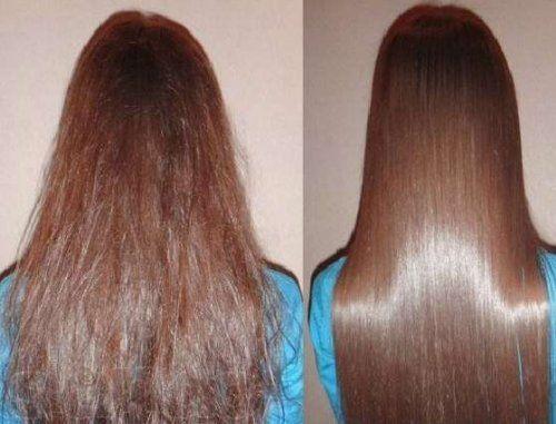Гладкість і блиск волосся підуть будь шатенці