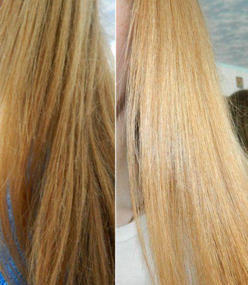Користь від желатинового ламінування оцінять і блондинки