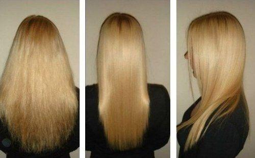Після ламінування волосся стає