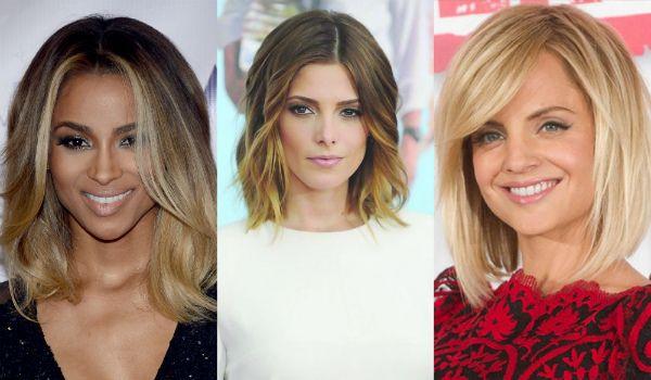 Модна фарбування волосся 2016 на середні волосся - фото і тренди