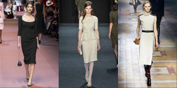 Модні сукні 2016 року. Новинки фасонів з фото