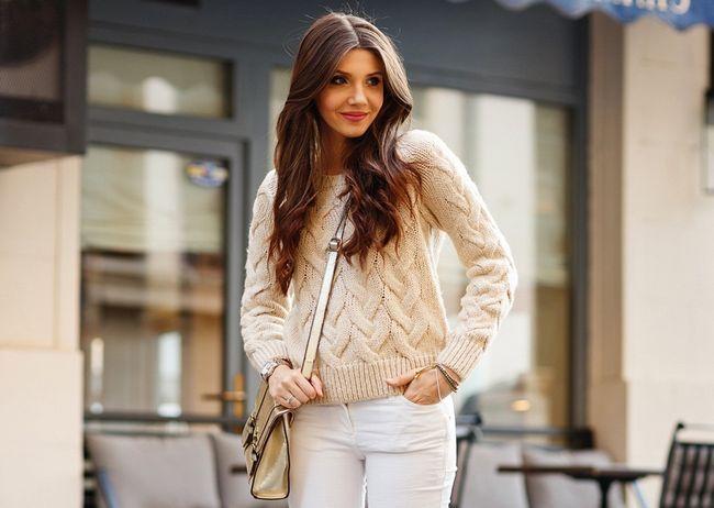 Модні жіночі светри 2016 року - фото і кольору