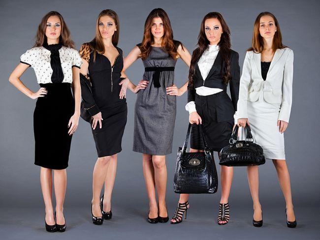 Офісний стиль одягу для дівчат 2015 - фото костюмів