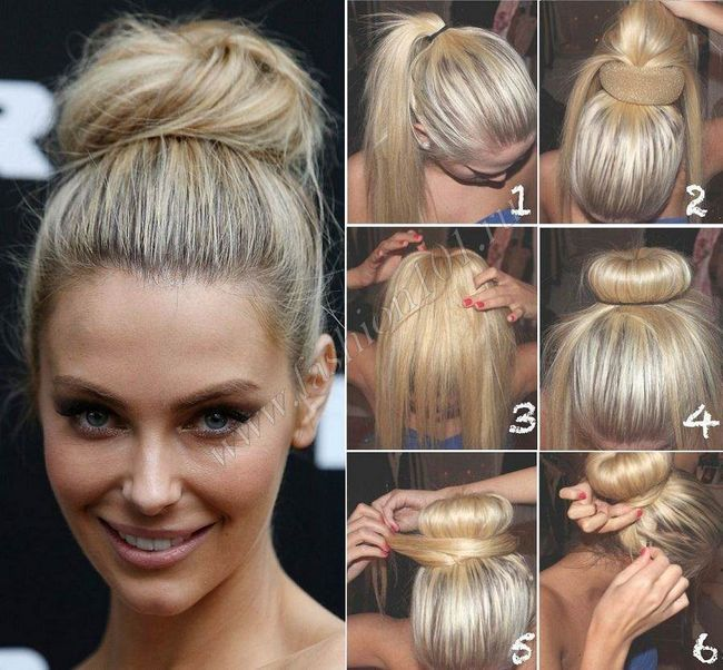Зачіска в стилі стиляг: робимо бабетту