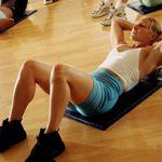 Плоский живіт: вправи і дієти