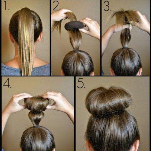 Зачіски з бубликом: просто, оригінально і дуже стильно!