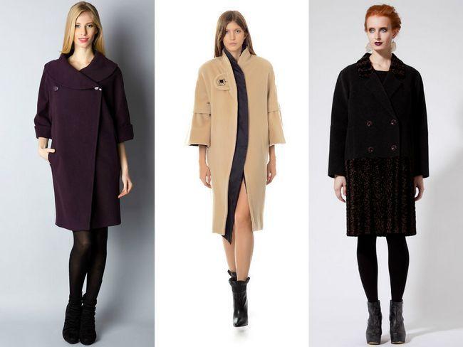 Розкішне пальто вільного крою - фото фасонів, з чим носити моделі