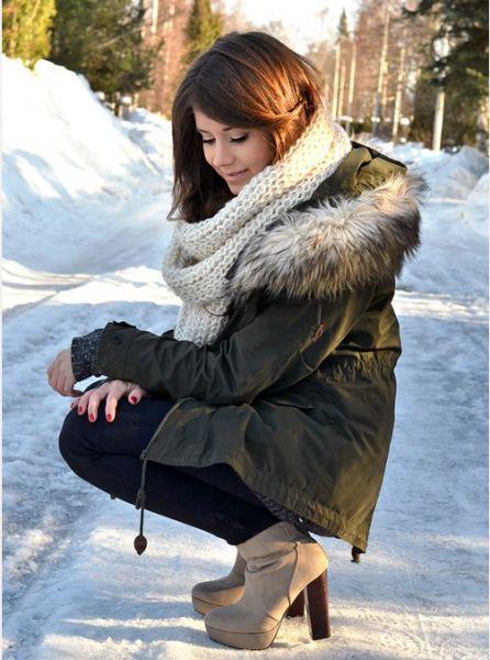 З чим носити модний парку взимку - фото 34 стильних способу