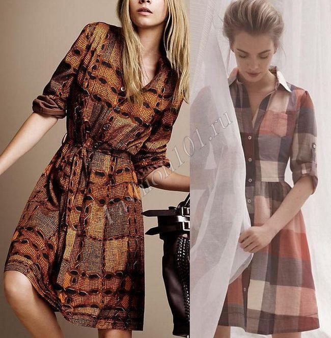 Літнє плаття сорочка