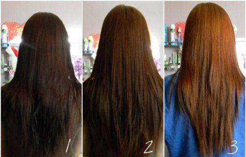 У більшості випадків, для відновлення натурального кольору потрібно 2-3 процедури