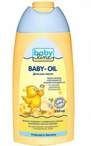 дитяче масло для новонароджених