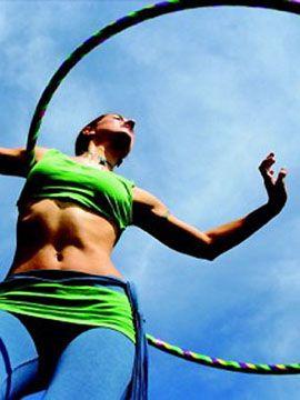Вправи з хулахуп: прості обертання для схуднення