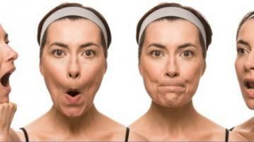 Види вправ для підтяжки обличчя і шиї