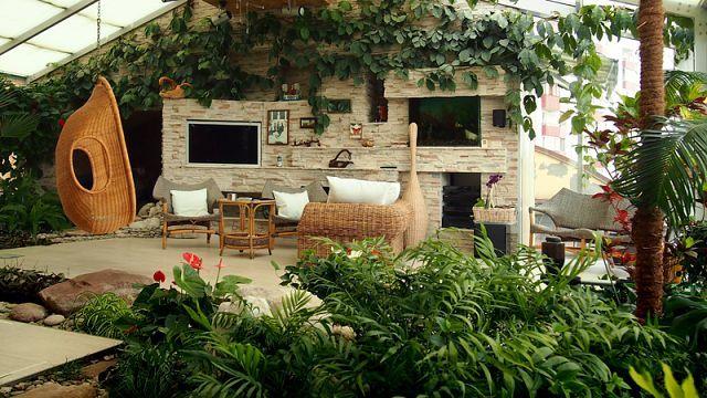 Мальовничий зимовий сад в приватному будинку - фото, ідеї, дизайн